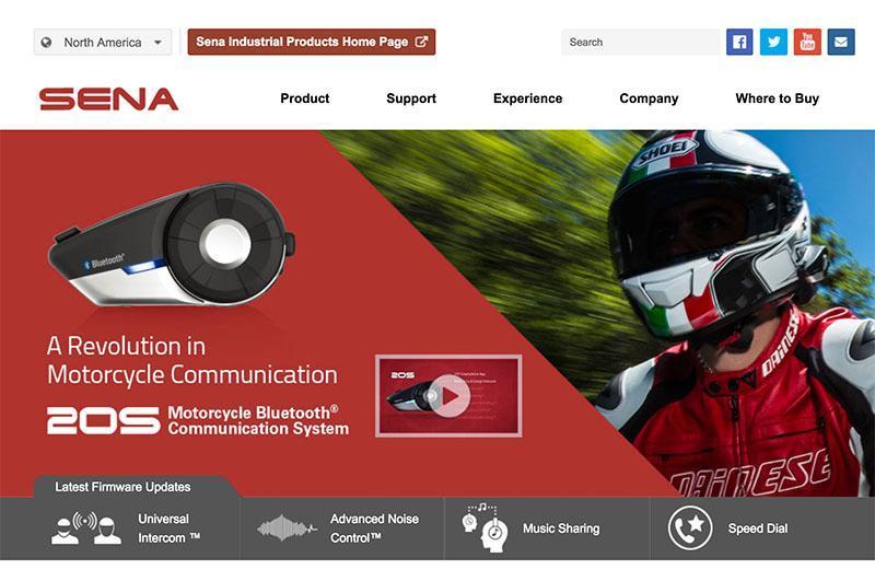 Stara spletna stran Sena.com